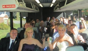 Charter Bus Services - Wedding, Group Outings