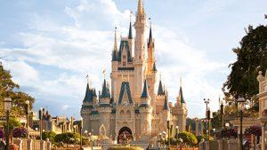 Image of Disney castle.