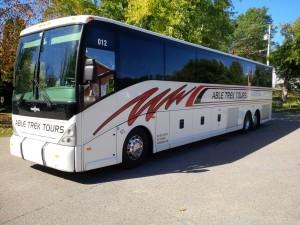 57-passenger Motor Coach
