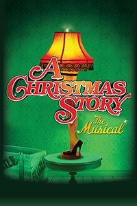 Logo of A Christmas Story Musical