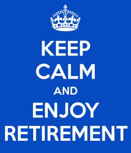 Image of Keep Calm and Enjoy Retirement