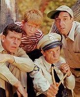 Image of the cast of The Andy Griffith Show.