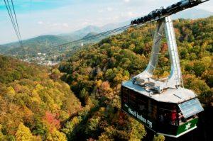 Image of Ober Gatlinburg Aerial Smoky Mountain Tram ride