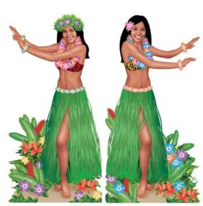 Image of Hula dancers