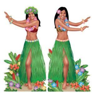 Image of Hula dancers