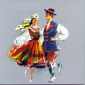 Image of polka dancers