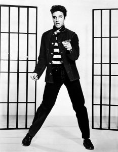 Image of Elvis Presley.