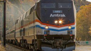 Image of Amtrak train