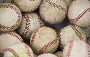 Image of baseballs.