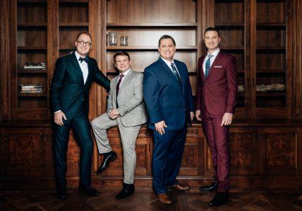 Image of Tribute Quartet members